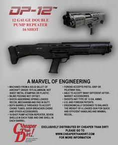 DP-12 Shotgun Double Barrel Pump Shotgun