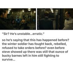 No way Bucky didn't try to fight back as much as he could