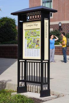 US-Signage & Wayfinding – Ayers Saint Gross Wayfinding Signage, Signage Design, Banner Design, Digital Kiosk, Digital Signage, La Sign, Pylon Sign, Trophy Design, Sign System