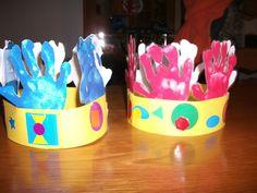Couronne des rois ecole maternelle hiver pinterest - Decoration couronne des rois ...