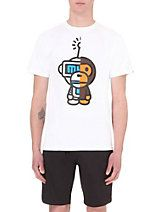 A BATHING APE Future Milo-print cotton t-shirt