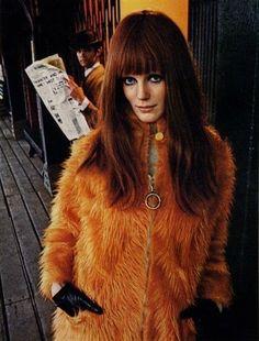 UK model Heather Taylor, inspiration for Jimi Hendrix's Foxy Lady.