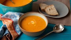 Red lentil and bacon soup
