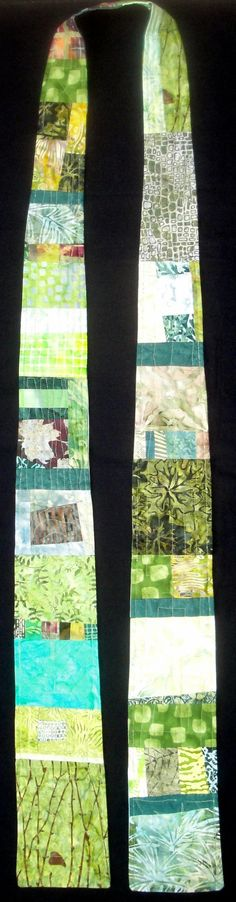 Reversible Modern Clergy Stole Green Ordinary by juliebagamary