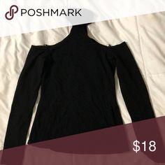 Shirt Bare shoulder, turtle neck top Express Tops Blouses