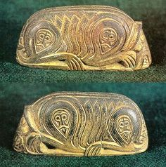 Unique viking pommel found in a graveyard in Tavastland / Finland... Some of the findings appear to be connected to Loki!