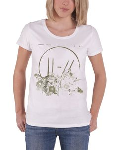 a757fca7 Twenty One Pilots T Shirt Trench Flower Bed Womens White