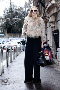 Street style moda en la calle looks para el invierno