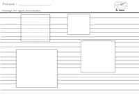 Après avoir repassé les pointillés je dessine à main levée des lignes horizontales dans un espace bien délimité