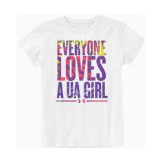 Girls' Under Armour Everyone Loves T-Shirt ((Girls♥))