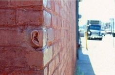 Talking to a brick wall -Street Art 3d Street Art, Street Art Utopia, Street Art Graffiti, Art Public, Urban Art, Oeuvre D'art, Artsy Fartsy, Sculpture Art, Amazing Art