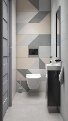 Toilette dekoration Italian swimsuit industry high prestige at international level Some history In a Toilet Tiles Design, Small Toilet Design, Small Toilet Room, Wc Design, Guest Toilet, Bathroom Design Luxury, Bathroom Design Small, Modern Bathroom, Downstairs Bathroom