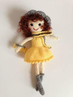 Mirabelle Jolie Shabby Chic Crochet Doll