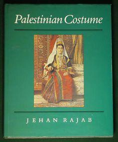 SALE! BOOK Palestinian Costume ethnic fashion tribal jewelry robe Syria Islamic