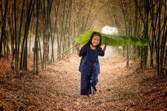 Child in rural Thailand