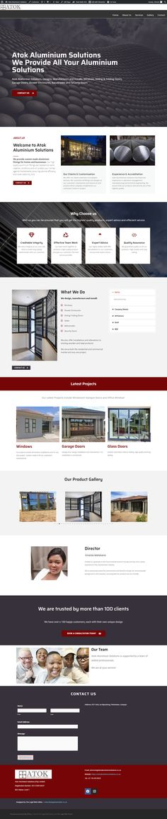 Manufacturing Website Theme - The Legal Web Online. See our latest website design for a manufacturing company! For more on Atok: www.atokaluminiumsolutions.co.za #thelegalwebonline #manufacturing #manufatcuringwebsite #manufacturingwebdesign #hosting #websites #webdesign #webhosting