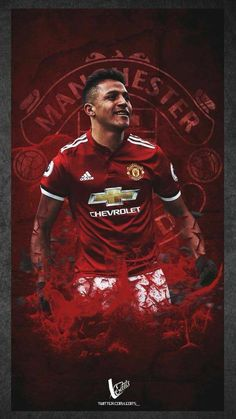One of the greatest sporting events on earth is soccer, generally known as football in most nations around the world. Manchester United Wallpaper, Manchester United Football, Pure Football, Football Team, Alexis Sanchez, Jersey Atletico Madrid, Soccer Skills, Soccer Stars, Sports