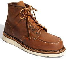 best loved 5dcb4 4180a Red Wing  Classic Moc  Boot Zapatos Caballero, Botas Zapatos, Zapatos  Casuales,