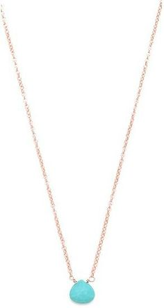 If bold isn't really your thing, this delicate Heather Hawkins tiny gemstone necklace may be more your speed.