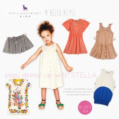 10a832ba2 Stella McCartney Kids Spring/Summer 14' Collection at Hello Alyss. Girl  Scout Crafts