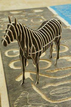 Black Horse - CNC works / Sunghyun An / 4T Birch-plywood & Color oil