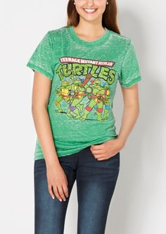 Rue21 TMNT Burnout Tee Found on my new favorite app Dote Shopping #DoteApp #Shopping