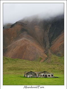 Abandoned Farm Snæfellsnes. It's 10km east of Arnarstapi.
