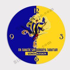 Sarı Kanarya Taraftar Cam Duvar Saati  http://www.sihirlifoto.com/Sari-Kanarya-Taraftar-Cam-Duvar-Saati,PR769,1.html