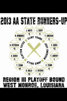 Regional Tournament All Star Roster Shirts