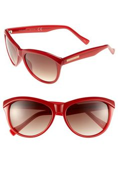 This is my favorite shape. Vince Camuto Oversized Sunglasses available at #Nordstrom