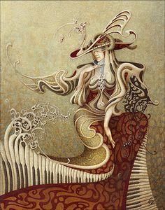 Surrealism and Visionary art: Boris Indrikov