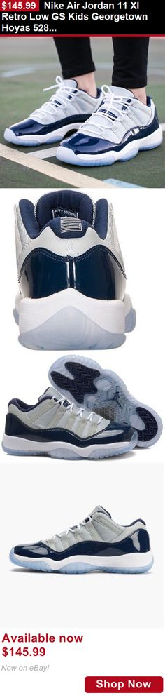 e1482aef2f57 Children boys clothing shoes and accessories  Nike Air Jordan 11 Xi Retro  Low Gs Kids Georgetown Hoyas 528896-007 Sz 7Y BUY IT NOW ONLY   145.99