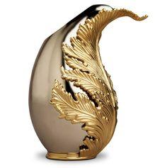 L'Objet Lamina Stainless Steel Vase | Gracious Style