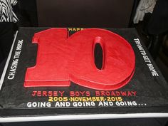 Oh, What a Birthday! Jersey Boys Celebrates 10 Years on Broadway Jersey Boys, 10 Anniversary, 10 Years, Vegas, Broadway, Celebrities, Birthday, Celebs, Birthdays