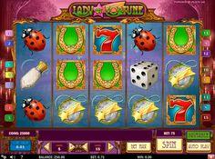 Älä missata ilonsa! Pelaa #PlaynGo Lady of Fortune kolikkopeli ja voitta isot jattipotit. Hajontamertkit ovat kirkaaita ja värikaitä! Ilo ja jänne on takuulla!