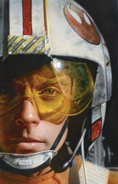 Luke Skywalker-X Wing Pilot, Greg Staples