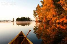 muskoka lake pictures with canoe - Google Search