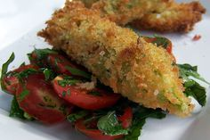 Polenta Stuffed Zucchini Blossoms   will have to google some terms as she uses cornmeal? is this polenta?