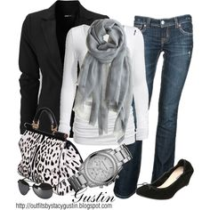 black and white animal print - Absolutely Love This!!
