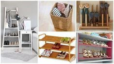 The organization of the space: 8 ideas to help keep order Shoe Rack, Shelves, Space, Storage, Home Decor, Closet, Wooden Bookcase, Wooden Cupboard, Old Ladder