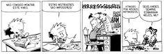 Gêneros do Discurso: Calvin e Haroldo, de Bill Watterson