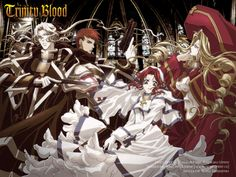 Trinity Blood - I am a Crusnik. A vampire that feeds on the blood of vampires. - Abel Nightroad / Crusnik 02