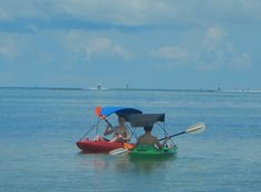 Get your kayak sunshade in different colors at Adventure Canopies!!!