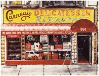 Carnegie Deli...the biggest and best corned beef or pastrami sandwich on the planet.....