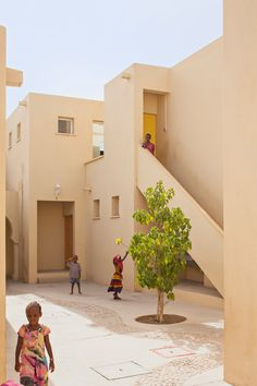 urko sanchez architects SOS children's village in djibouti designboom