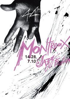 Projet d'affiche pour le Montreux Jazz Festival