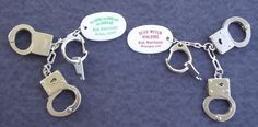 Handcuffs given away with The Good, The Bad, and The Undead.