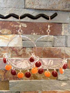 Virginia Tech Hokies Chandelier Earrings