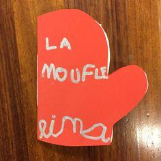 Mini livre de La Moufle – La classe de Anne Cycle 1, Drink Sleeves, Education, Ps, Moment, Albums, School, Winter, Check
