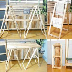 3wayで使える折り畳みディスプレイシェルフを作りました の画像|SNG LABORATORY +